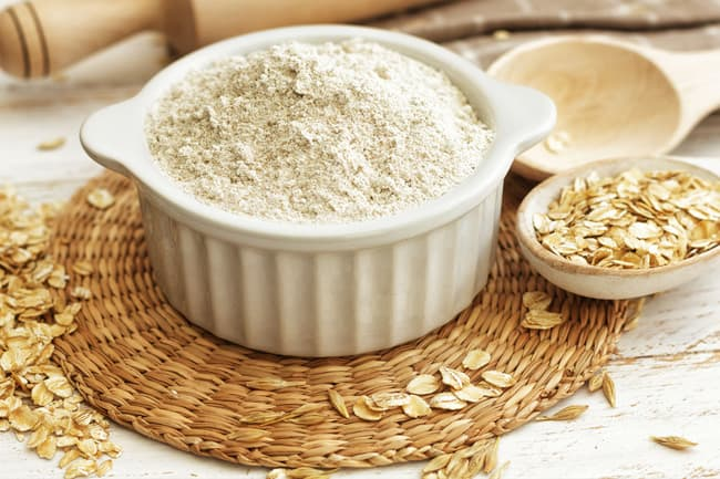photo of oat flour
