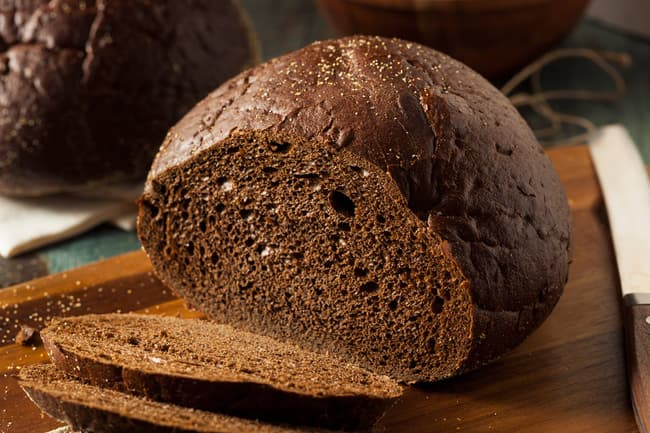 photo of rye bread