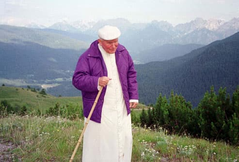 Pope John Paul II in Italy