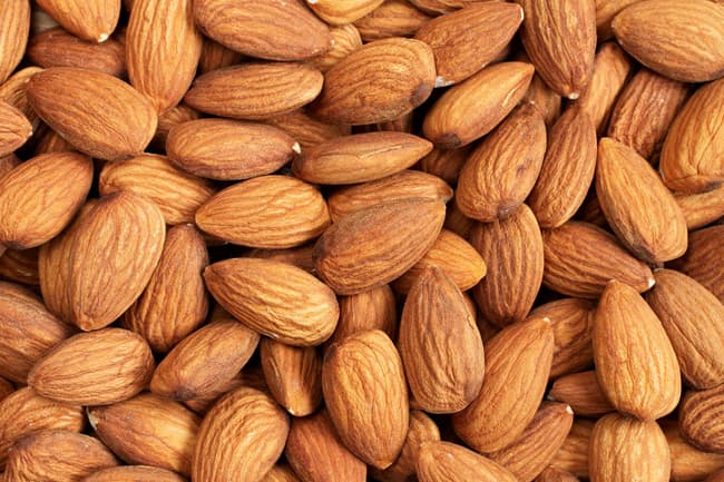 photo of almonds