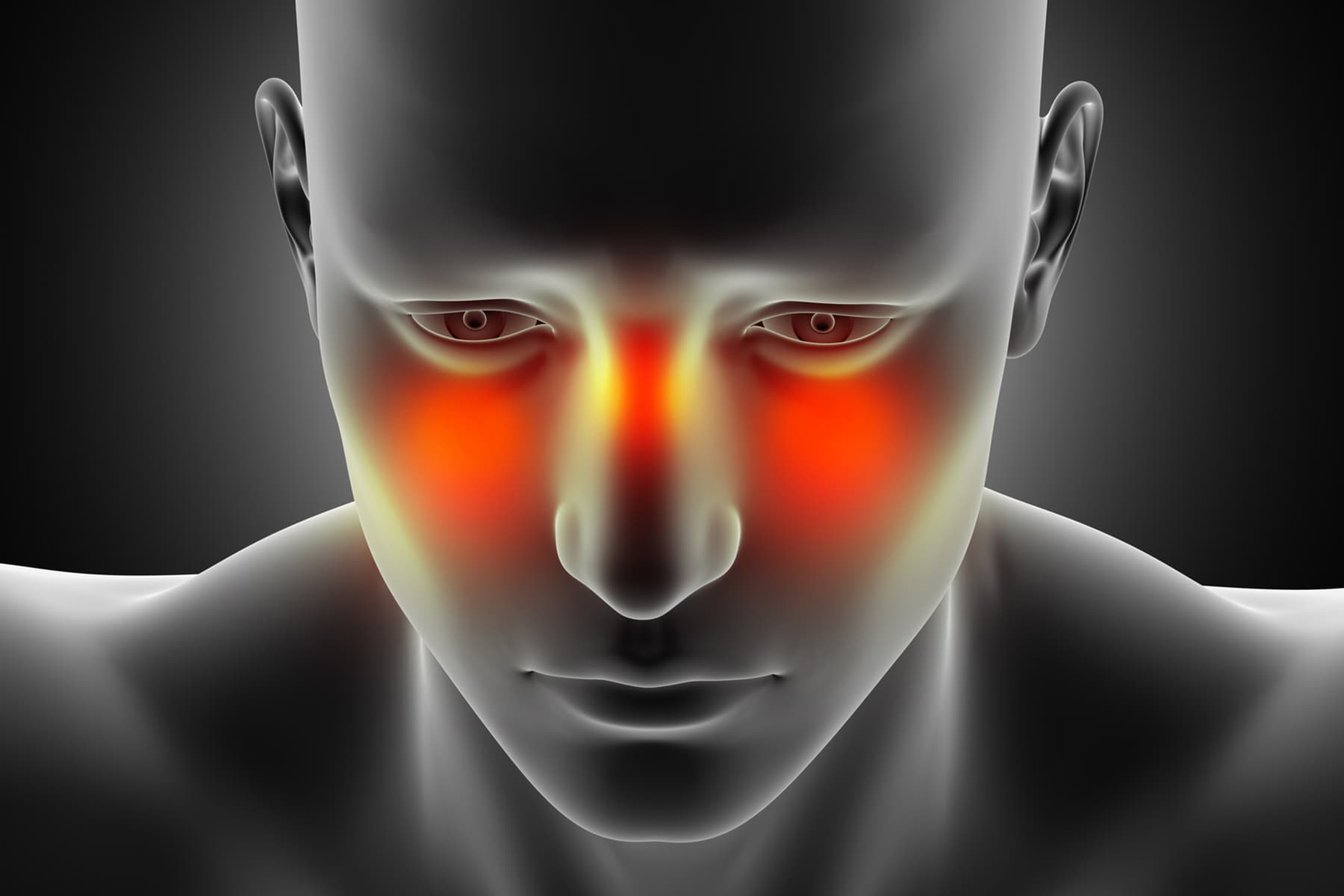 The facial pain caused by cold fluid question interesting