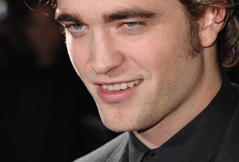 Robert Pattinson smile