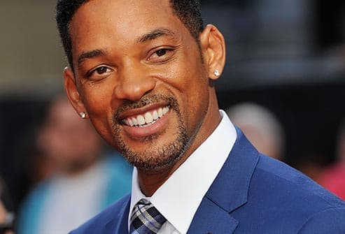 Will Smith smile