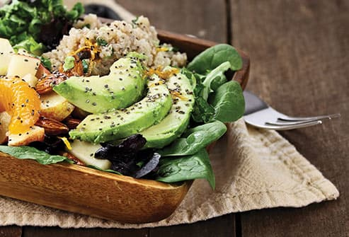 avocado and quinoa salad