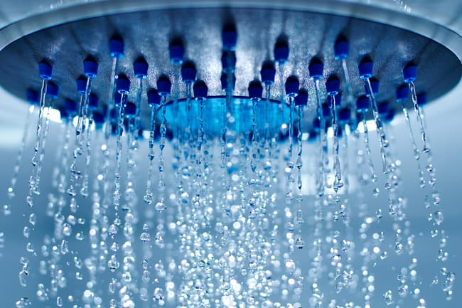 photo of shower head