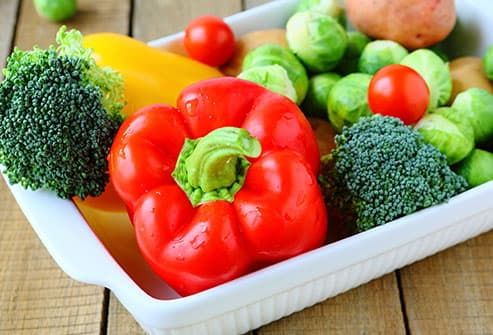 vegetables with vitamin c