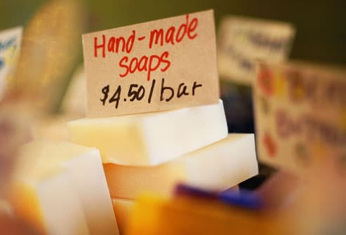 Preservative free hand made soap