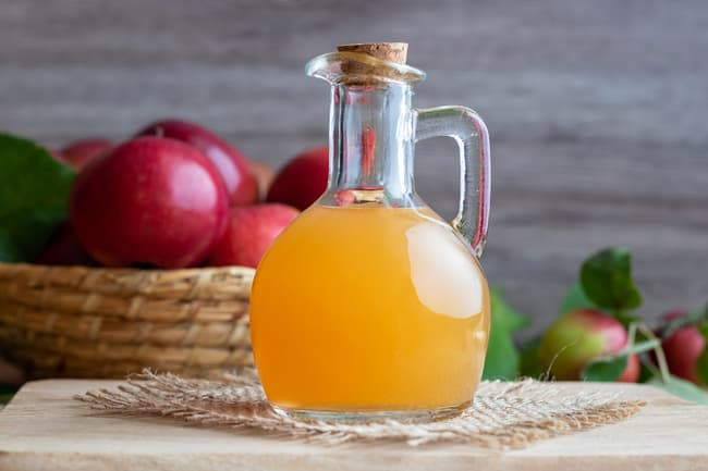 photo of apple cider vinegar