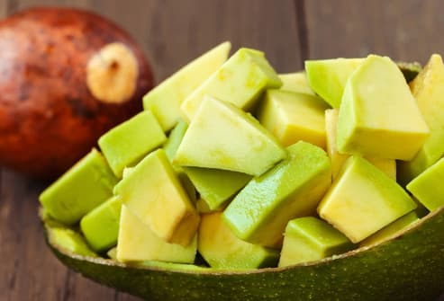 diced avacado