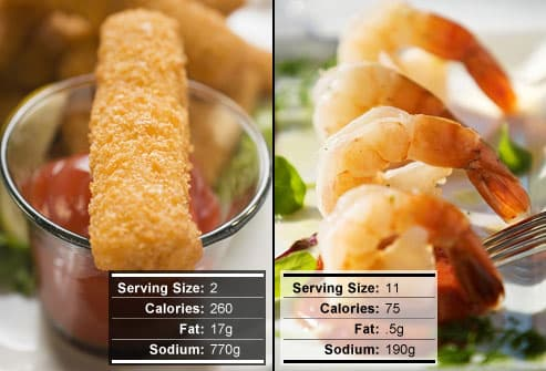 Fish Sticks Versus Shrimp