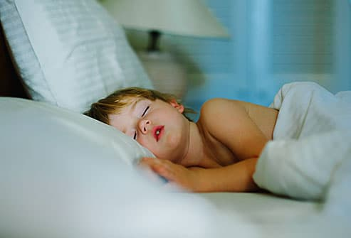 boy sleeping soundly
