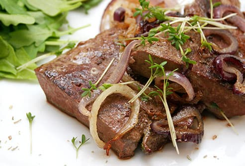 beef liver and onions