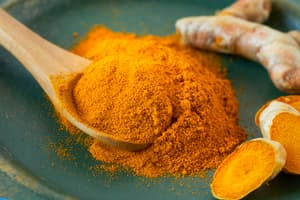 photo of turmeric powder