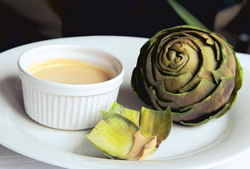 artichoke and butter