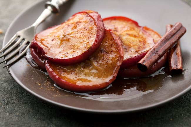 photo of baked apples