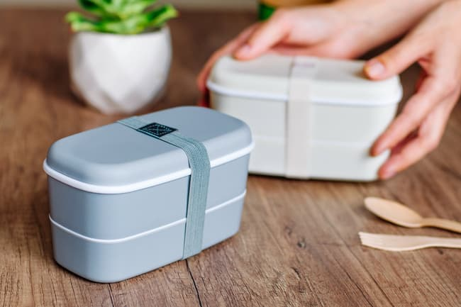 photo of lunch boxes