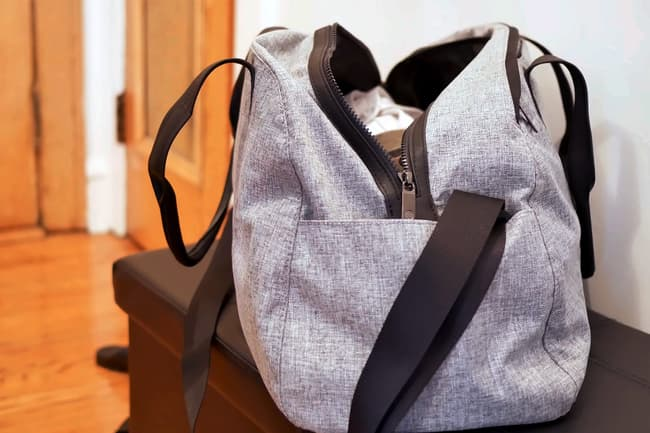 photo of on the go bag