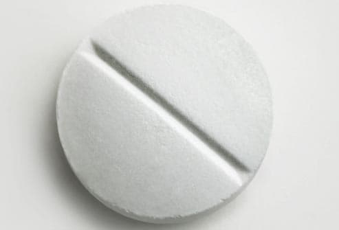tablet of aspirin
