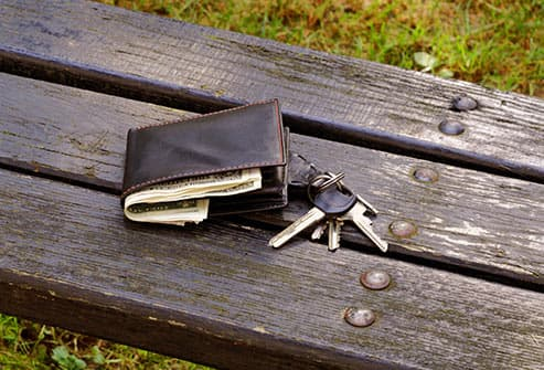 lost wallet and keys