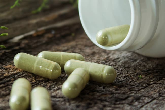 photo of herbal supplements