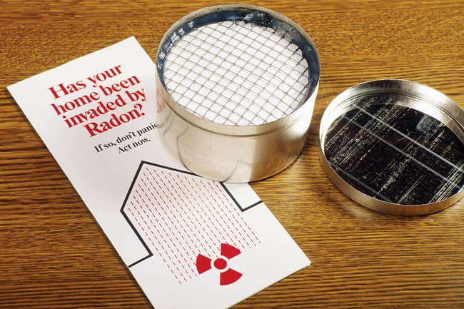 home radon testing kit
