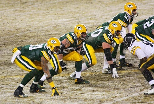 green bay linemen