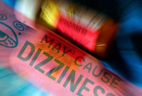 may cause dizziness label