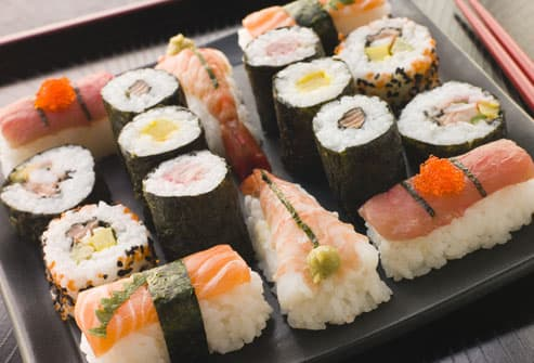 What not to eat when pregnant pictures alcohol fish for Best fish for sushi