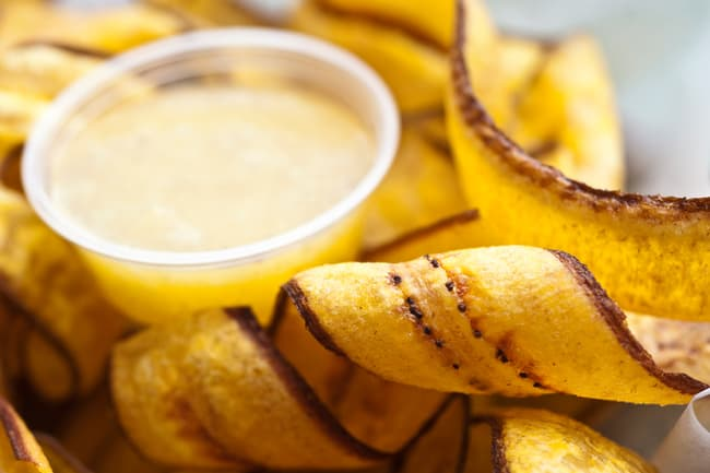 photo of fried plantains