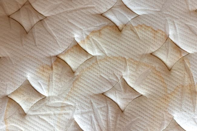 photo of dirty mattress