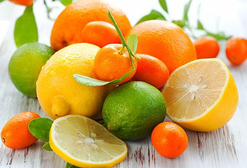 citrus fruits