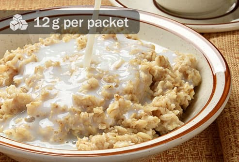bowl of instant oatmeal