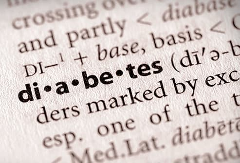 diabetes in dictionary