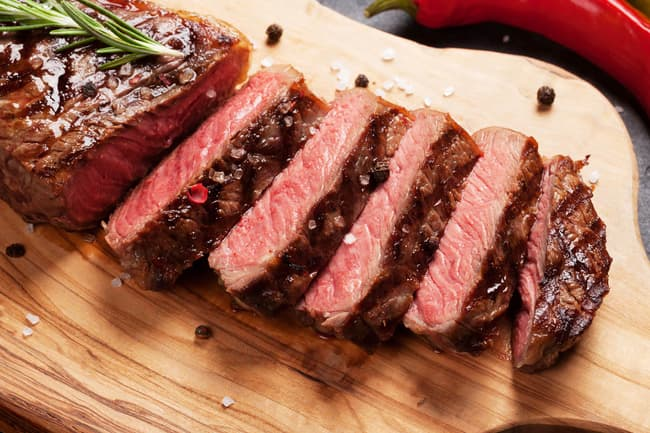 photo of grilled steak