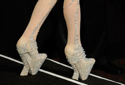Lady GaGa costume shoes