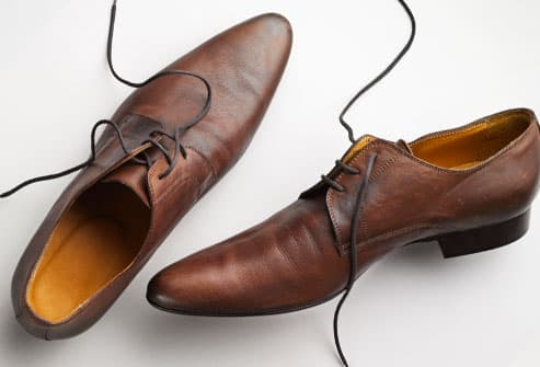 Male Dress Shoes Foot Problems