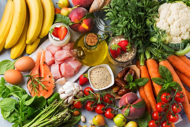 photo of heart healthy foods