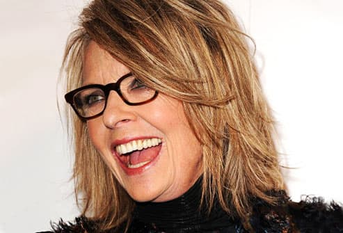 diane keaton hair style pictures of age defying hairstyles how to look younger 1241