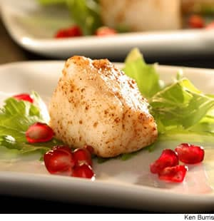 Five-Spice Scallops
