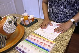 daily medication planning