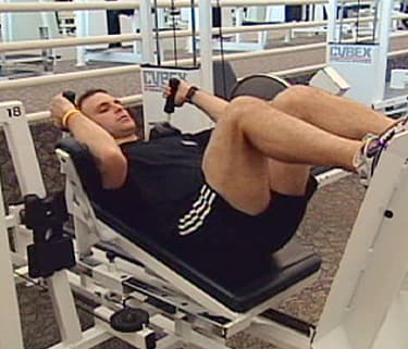 Gym Smarts: Lower Body (Leg Press Lying) - Watch WebMD Video