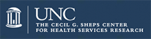 Logo for UNC Chapel Hill, Cecil G. Sheps Center