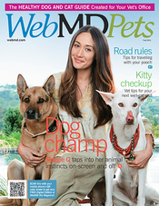 Cover of WebMD Pets Fall 2011