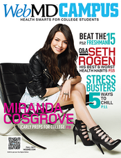 Cover of WebMD Campus Fall 2011