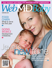 Cover of WebMD Baby November and December 2011