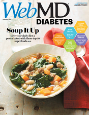 Cover of WebMD Diabetes Sept 2012