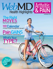 Cover of WebMD Health Highlights July/August 2012