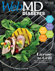 Cover of WebMD Diabetes June 2013