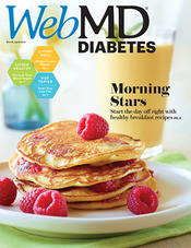 Cover of WebMD Diabetes March and April 2014