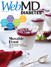 Cover of WebMD Diabetes November/December 2016
